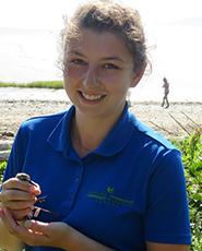 Jasmin Anderson, Johnson's Mills Shorebird Interpreter/ Manager