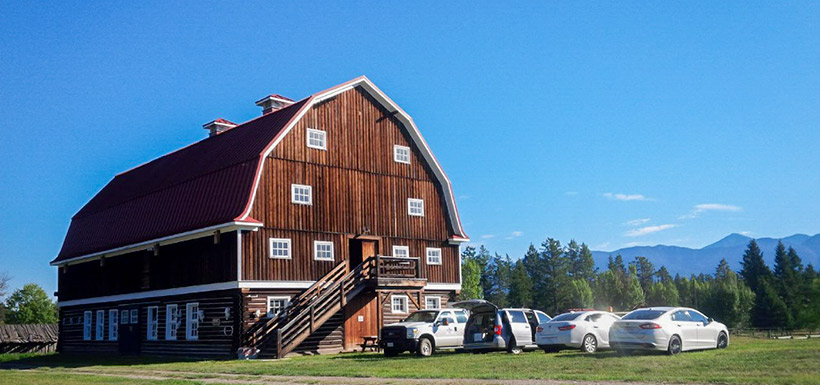 Venue of the Canadian Rockies event at the SRL-K2 Ranch (Photo by NCC)