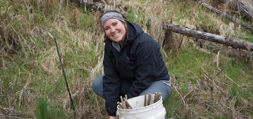 Bénévole pour la conservation, propriété H.G. Lawrence, Alb. (Photo de CNC)
