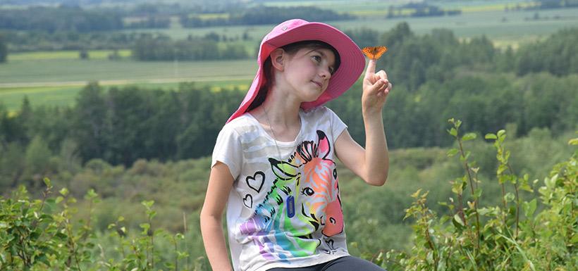 Bénévole, Inventaire de papillons, Alb. (Photo de CNC)
