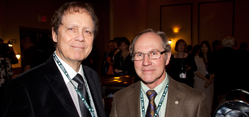 Bob Wrigley and Peter Sawatzky (Photo by NCC)