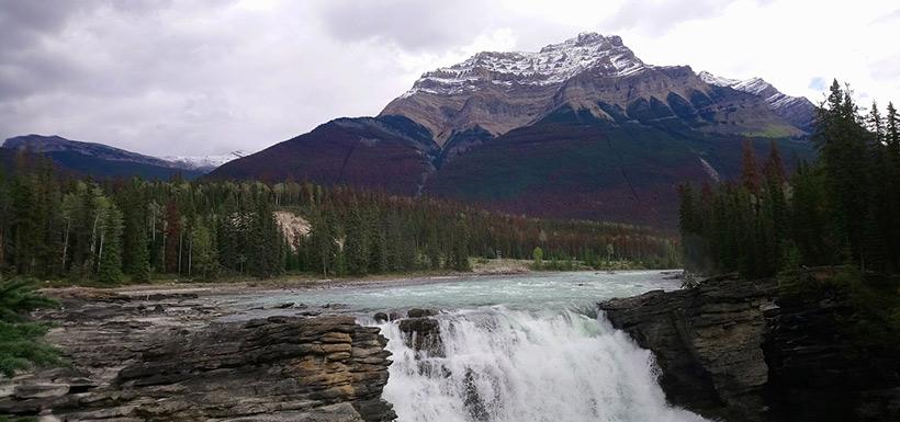 Athabasca Falls (Photo by Adam Hunter/NCC staff)
