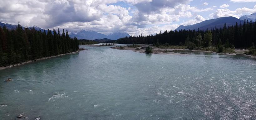 River in Jasper National Park (Photo by Adam Hunter/NCC staff)