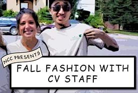 Our lovely CV staff model their fall fashion essentials (by NCC)