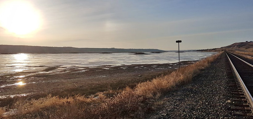 Golden hour on the prairies in Saskatchewan (Photo by NCC)