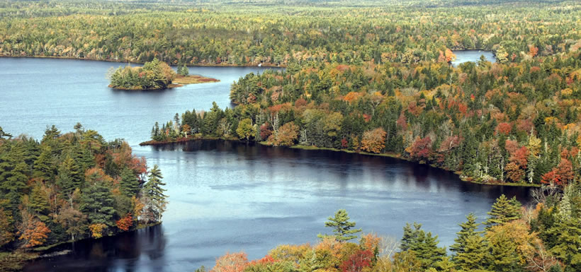 Tusket River Watershed, NS (Photo by Mike Dembeck)