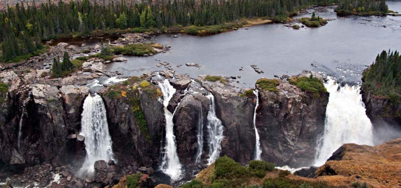 Crystal Falls, NL (Photo by Isabelle Schmelzer)