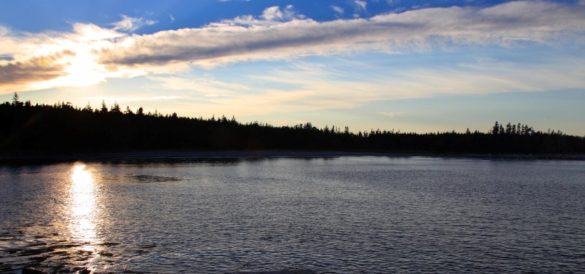 Reflection at NCC's Nature Reserve at Sandy Bay, Port Joli, NS (Photo by Mike Dembeck)