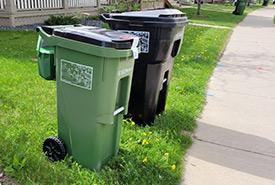 Green bin in Edmonton