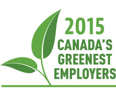 Canada's Greenest Employers 2015 graphic ENG