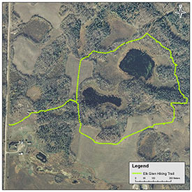 Elk Glen Interpretive Trail (Map by NCC)