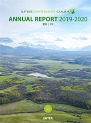 2019-2020 NCC annual report cover