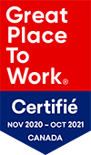 Great Place To Work certified badge