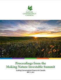 Making Nature Investable Summit Proceedings