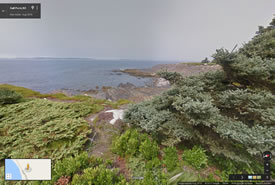 Gaff Point, Nouvelle-Écosse (Google Streetsview)