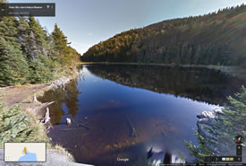 Green Mountains Nature Reserve, Quebec (Google Streetsview)