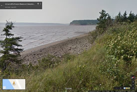 Johnson's Mills Shorebird Reserve and Interpretive Centre, New Brunswick (Google Streetsview)