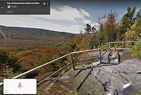 Virtual hike at the Green Mountains Nature Reserve with Google Trekker