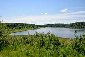 Lac Coyote, Bassin de la rivière Saskatchewan Nord, Alb. (Photo de CNC)
