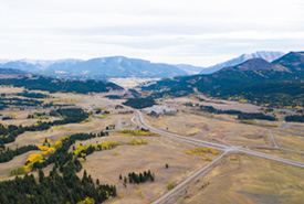 Lands within the Jim Prentice Wildlife Corridor (Photo by Brent Calver)