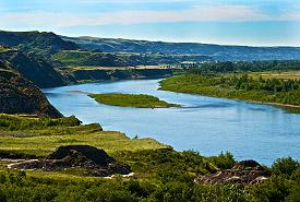 Red Deer River, Alberta (Photo by Karol Dabbs)