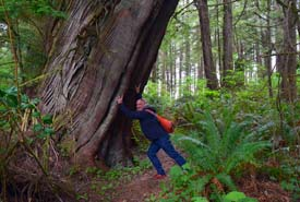 Clayoquot Island Preserve, BC (Photo by NCC)