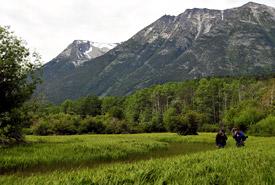 Dalton's Hideaway in the Klinaklini Valley, BC (Photo by NCC)