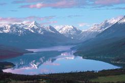 Tatlayoko Lake vista (Photo by Sally Mueller)