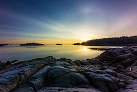 Vancouver Island coast, Salish Sea (Photo by fjecritchley)