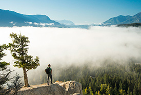 The Dutch Creek Hoodoos Conservation Area offers amazing views of the Columbia Valley. (Photo by Steve Ogle)
