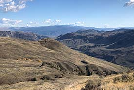Looking south into the U.S. from Sage and Sparrow (Photo by NCC)