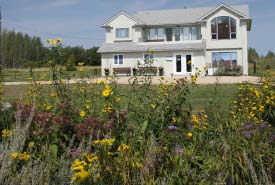 The Weston Family Tallgrass Prairie Interpretive Centre