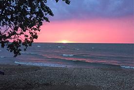 Lake Winnipeg sunrise. Photo by NCC.