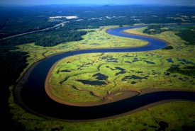 Musquash River, New Brunswick (Photo by Ron Garnett Airscapes)