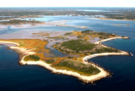 Bayers Island in Musquodoboit Harbour, Nova Scotia (Photo by Mike Dembeck)