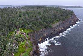 Gaff Point, Lunenburg County, Nova Scotia (photo by Mike Dembeck)