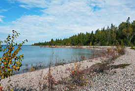 Cockburn Island shoreline (Photo by Mike Lamont)