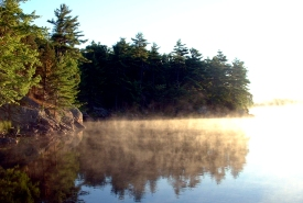 Misty morning on the Frontenac Arch, Ontario (Photo by NCC)