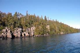 Les îles Powder, en Ontario (photo de Murray Whybourne)