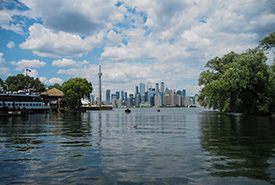 Toronto Islands (Photo by Céline Chamiot-Poncet)