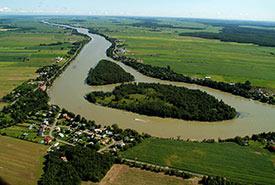 Richelieu River, îles de Jeanotte et aux Cerfs, QC (Photo by Claude Duchaîne)