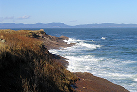 Pointe Saint-Pierre, Gaspé Peninsula, QC (Photo by NCC)