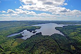 Lac du Portage, Beauce, Quebec (Photo by Claude Duchaîne)
