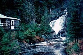 Luana's cabin (Photo by Luana Boulanger)