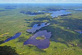 Portage Lake (Photo by Claude Duchaîne)