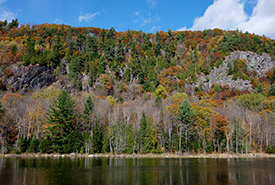 Fall at NCC's Alfred-Kelly Nature Reserve, a Nature Destination in Quebec (Photo by NCC)