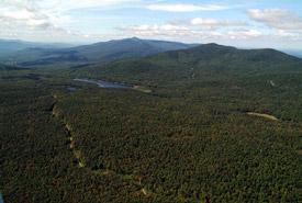 Montagnes Vertes, Québec (photo de Claude Duchaîne)