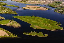 Îles à l'Aigle, à la Truie, aux Canards et Bonfoin (Photo de Immophoto-Patrice-Bériault)