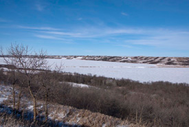 Looking out over Big Valley, SK. (Photo by Bill Armstrong)