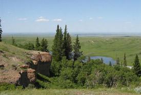 Hautes terres Cypress, Sask. (photo de CNC)